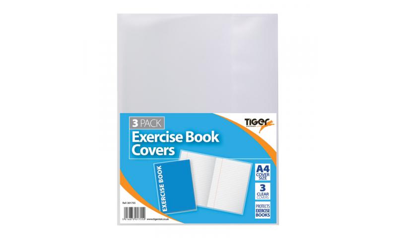 Exercise Book Covers A4 Bulk 25pk