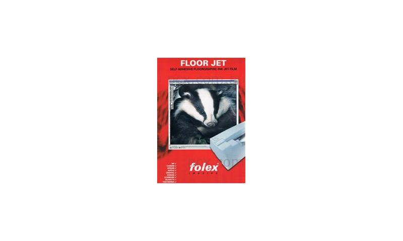 Folex Floor Jet, A4 Ink Jet Floor Decorating Clear Material Kit, 3 Sheets: On Special Offer