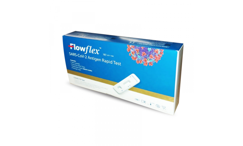Flowflex Single Pack Covid19 SARS-CoV-2  Antigen Rapid Test Kit