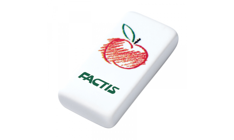 Factis Woodland Prints, Pencil Erasers 3 asstd (New Lower Price for 2021)