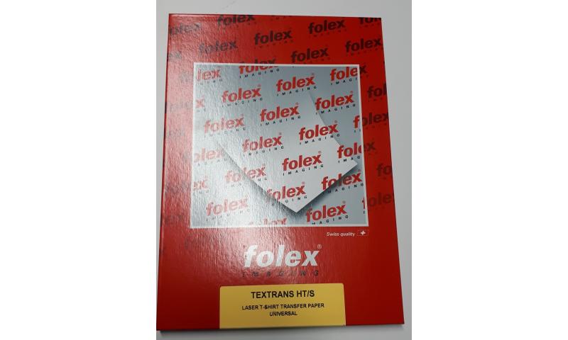 Folex Textrans Colour Laser T-Shirt Transfer Paper A4, Box 50 Sheets