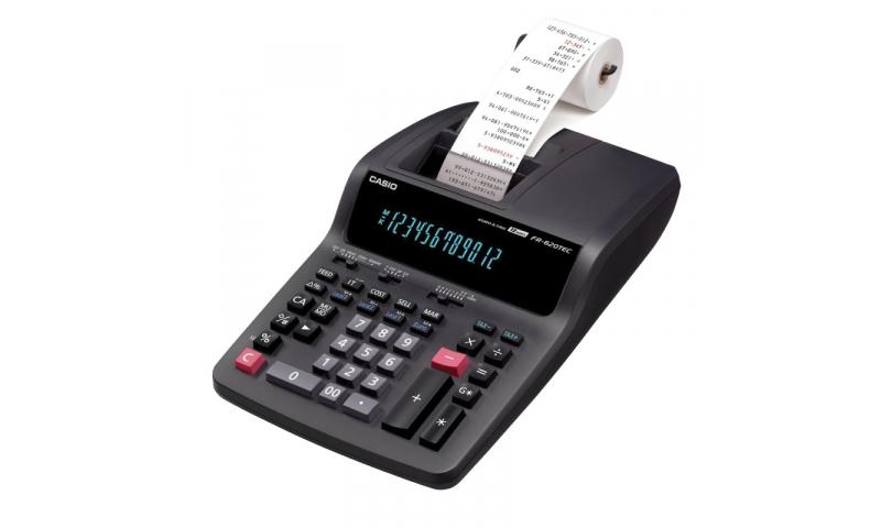 Casio Printer Calculator - Heavy Duty Printer, 57mm Roll, Direct Mains