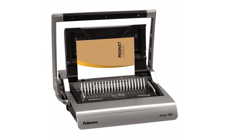 Fellowes Galaxy Heavy Duty Comb Binding Machine, 25 Sheet Cap. (New Lower Price for 2021)