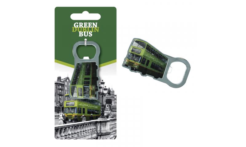 Dublin Bus Metal Bottle Opener