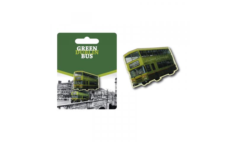 Dublin Bus Metal Enamel Lapel Pin