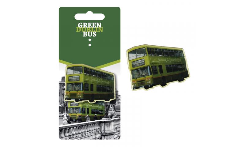 Dublin Bus Metal Enamel Magnet