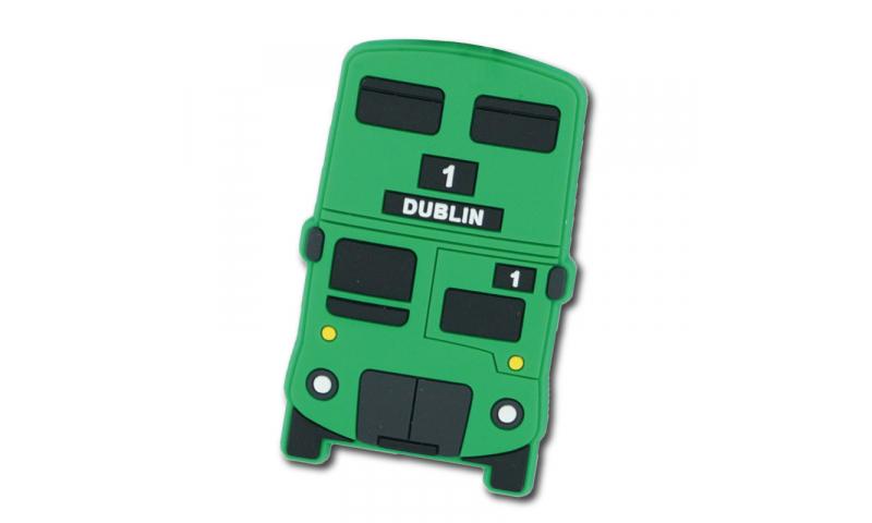 Dublin Bus Shaped PVC Magnet