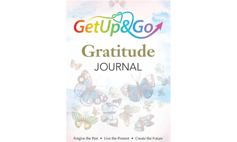 """Get up & Go A5 Superior Padded """"Gratitude Journal"""" Undated"""