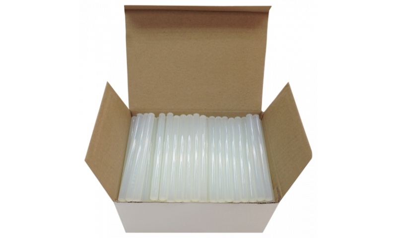 Texet Hot Melt Glue Sticks 100mm x 7.2mm Bulk box of 200 Sticks