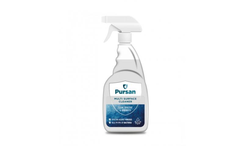 Pursan Multi Surface Cleaner, 750ml Trigger Spray PCS 100798