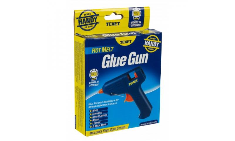 Texet Hot Melt Glue Gun 10w, Takes 7.2mm Glue Sticks