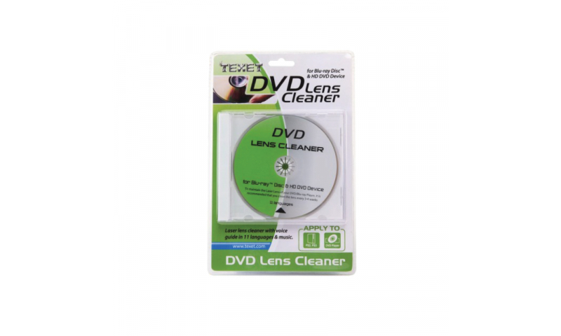 Texet DVD Lens Cleaner Kit