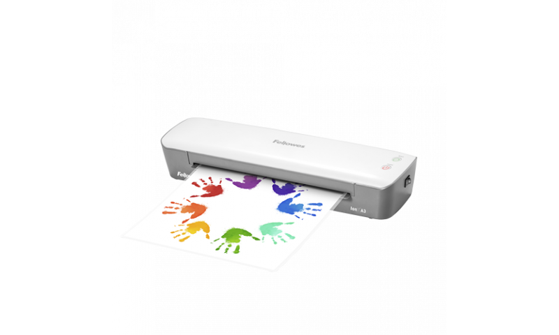 Fellowes Ion A3 Laminator, for up to 125mic Pouches (New Lower Price for 2021)
