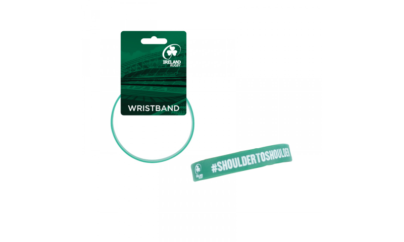 Irish Rugby PVC Wristband