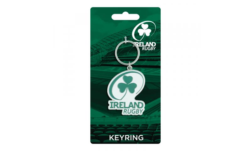 Irish Rugby Logo Metal Keyring