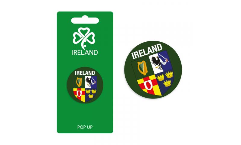 Ireland Provinces Pop Up Phone Holder - Hangcarded