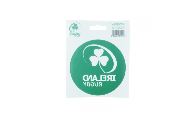 Irish Rugby Window Sticker