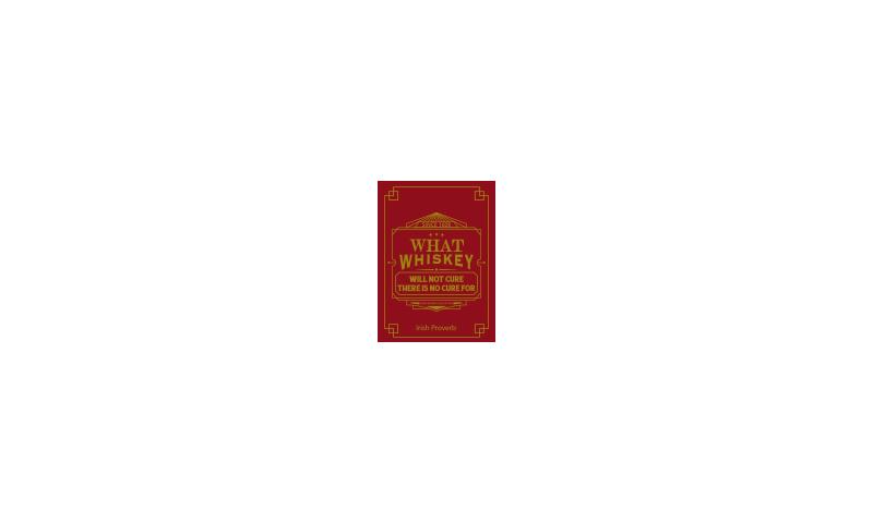 Spirit of Ireland Tin Magnet on Headercard - Whiskey Cure