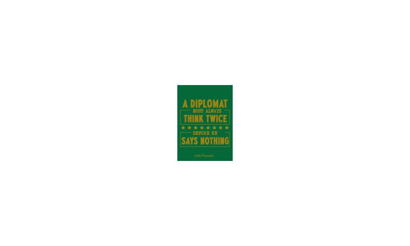 Spirit of Ireland Tin Magnet on Headercard - A Diplomat