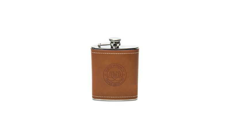 Spirit of Ireland Leatherette Hip Flask
