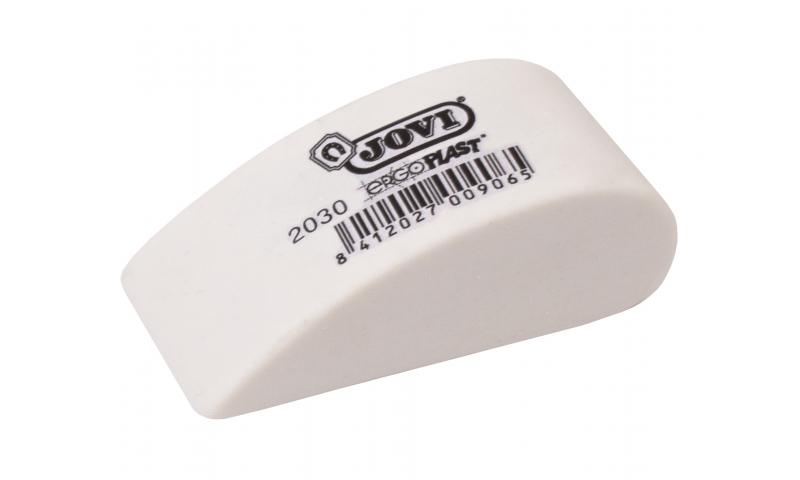 JOVI ErgoPlast Ergonomic Chamfered Soft Pencil Eraser (New Lower Price for 2021)
