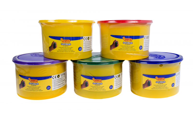 JOVI Soft Play Dough -Bulk Class Tub 460gr - 16 colours available (New Lower Price for 2021)