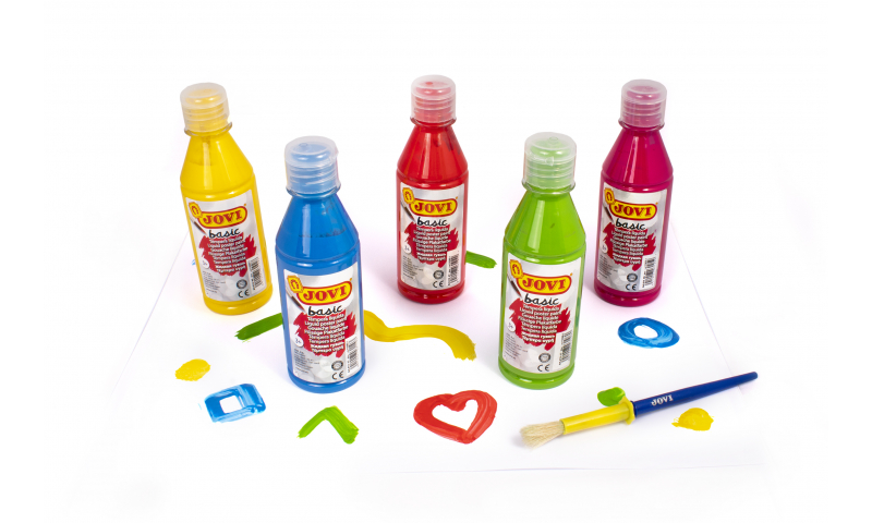 Jovi Liquid School Tempera Poster Paint 500ml in 12 Colour options (New Lower Price for 2021)