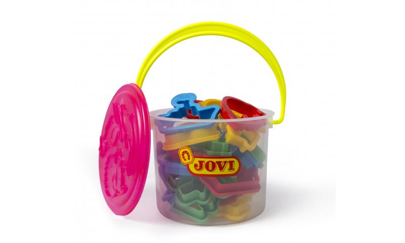 JOVI Modelling Moulds  - bucket of 24 different moulds