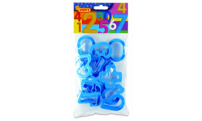 JOVI Modelling Moulds - bag - 12 units - Numbers
