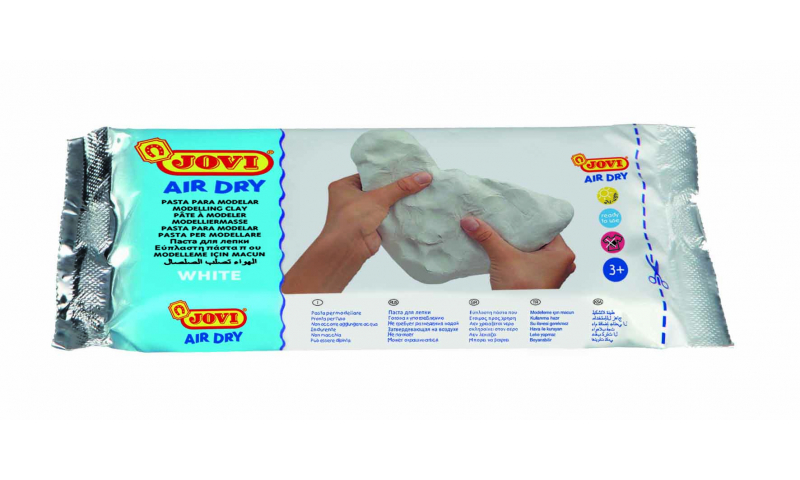 JOVI Air Drying Modelling Clay - 250g White  (New Lower Price for 2021)