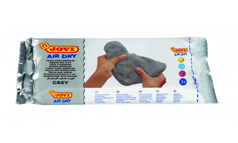 JOVI Air Drying Modelling Clay - 250g Grey (New Lower Price for 2021)