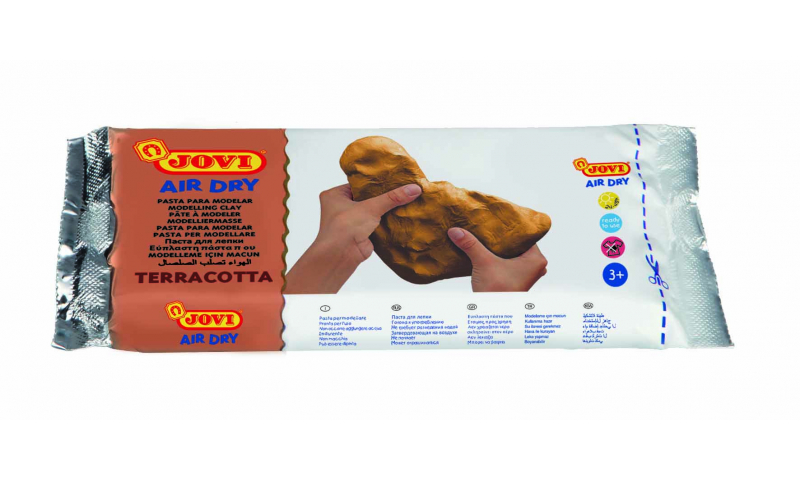 JOVI Air Drying Modelling Clay - 250g Terracotta (New Lower Price for 2021)