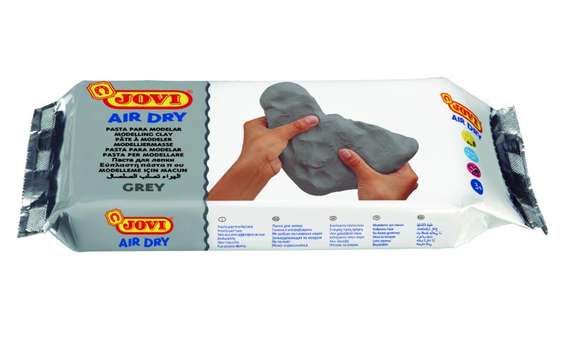JOVI Air Drying Modelling Clay -500g Grey