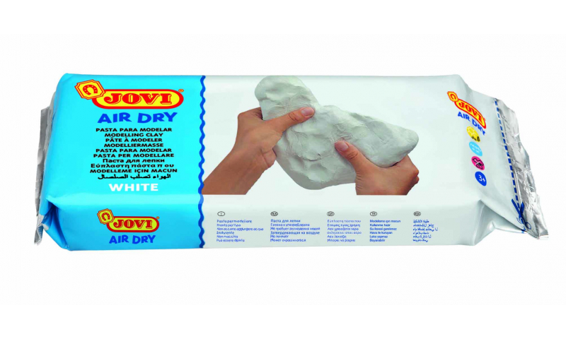 JOVI Air Drying Modelling Clay - 1000g White. (New Lower Price for 2021)