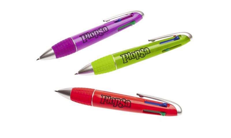 Jive Combi Bubble 4 colour Pen