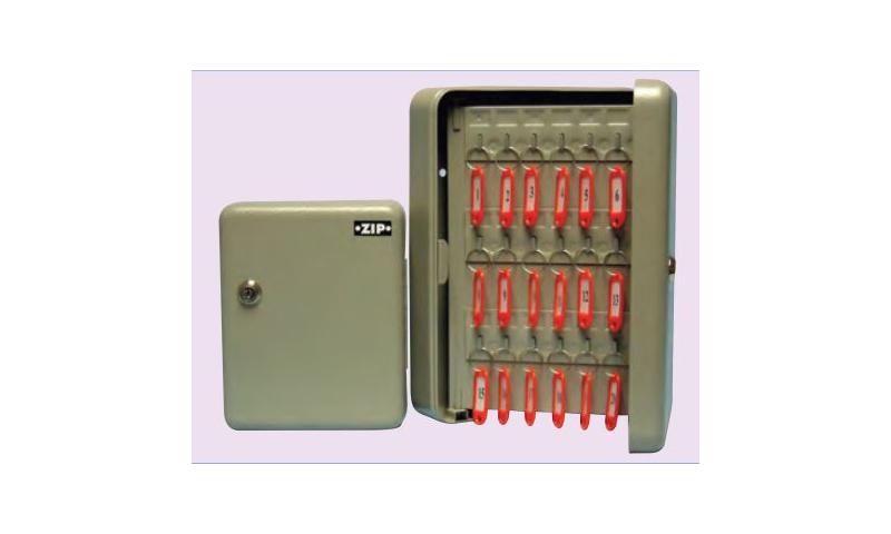 Zip 60 Hook Steel Key Cabinet & Accessories