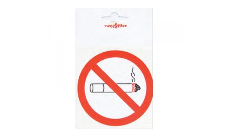 Zip Necessities No Smoking Labels, 3 Pack