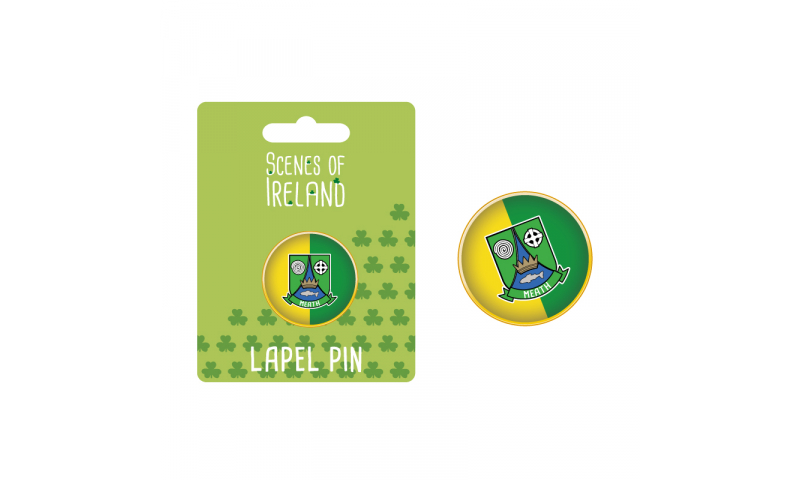 Meath County Crest Lapel Pin
