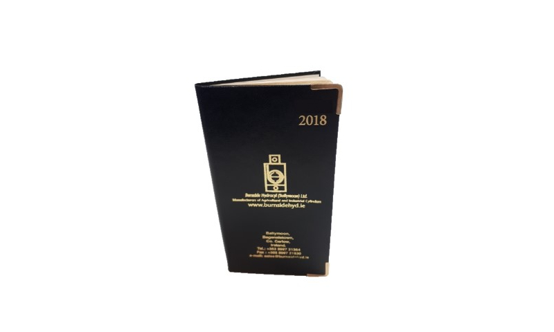 Superior 2022 Pocket Portrait Weekly Diary Overprinted With Logo, Ireland or UK Editions