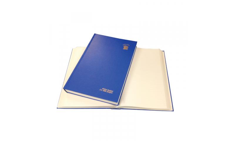 Dolmen A4 H/Duty Casebound 400 Page Jumbo Feint Ruled Book