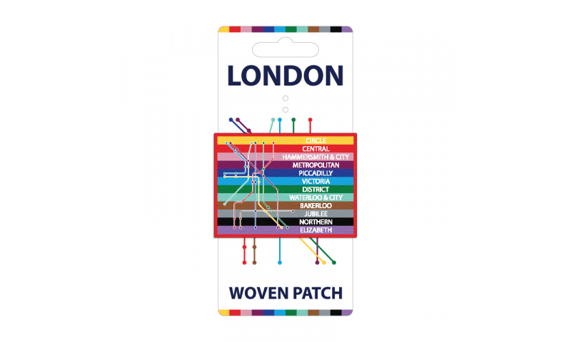 London Transport Woven Patch