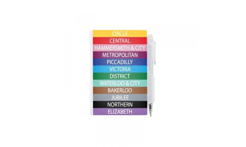 London Transport Rigilock Notepad