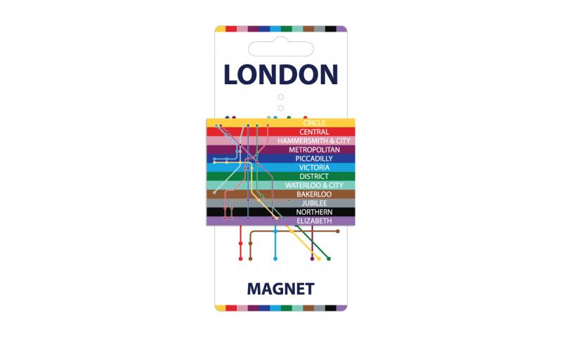 London Transport Tin Magnet