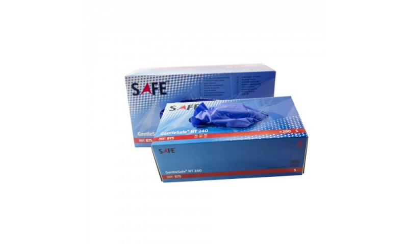 Nitrile Powder Gloves Free Box of 200, Small - (Stock Available)