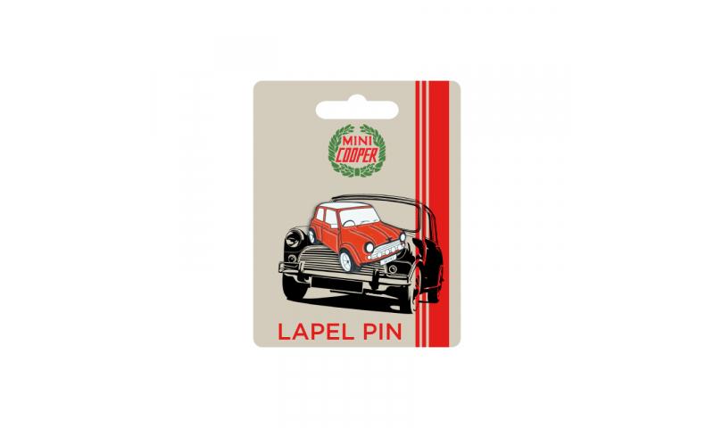 Mini Cooper LAPEL PIN - Car