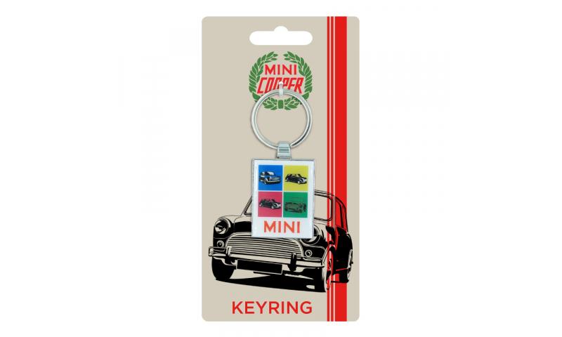 Mini Cooper CHROMIUM KEYRING