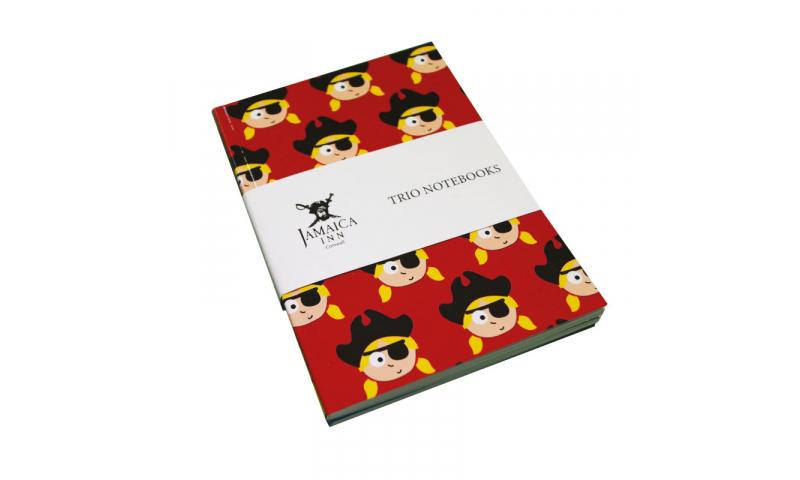 A6 Softback Notebook 3pk, Set of Different Designs, Fully Bespoke