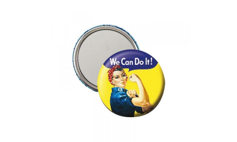 MM1 Button Badge Mirror 57mm - (Mix x50 per type, Min x500pcs in mix)