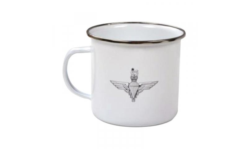 Tin Enamel Mug, 1 Colour Print inc. *