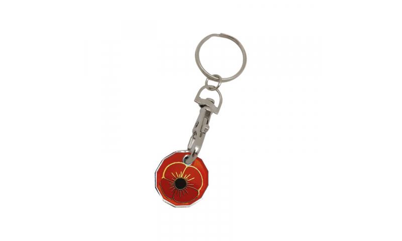 Trolley Coin Keyring, Bespoke design